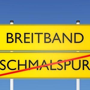 Internetausbau, Breitband vs Schmalspur - 3d
