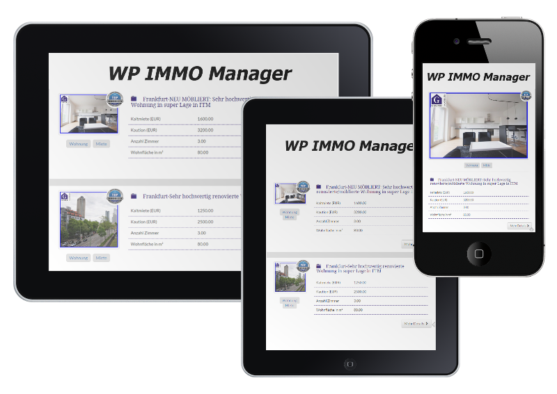 viewport-varianten von wp immo manager